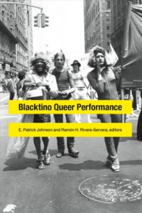 Image of book cover for Blacktino Queer Performance