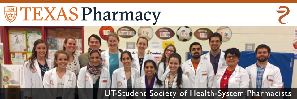 UT Student Society of Health-System Pharmacists
