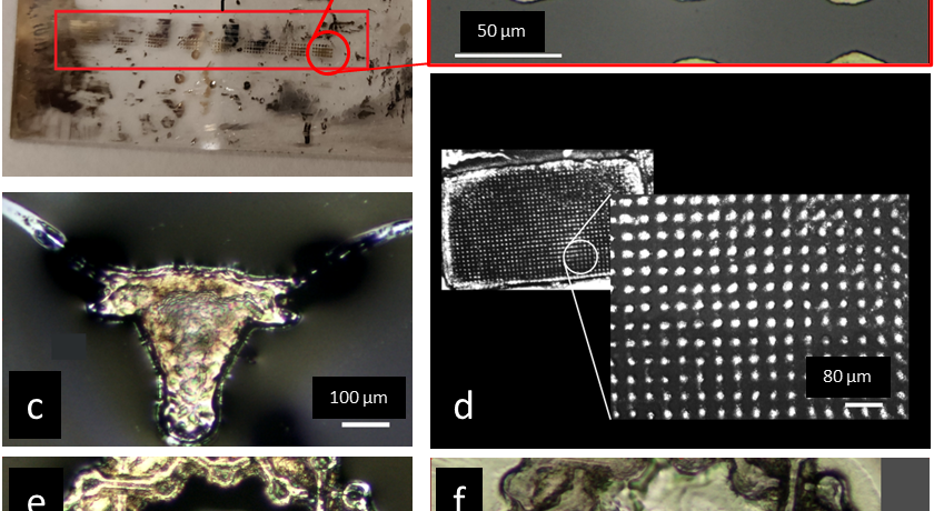 Microscale Selective Laser Sintering