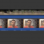 placing kermit clip in the iMovie timeline