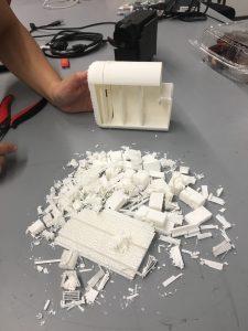 3D print, filling, PLA