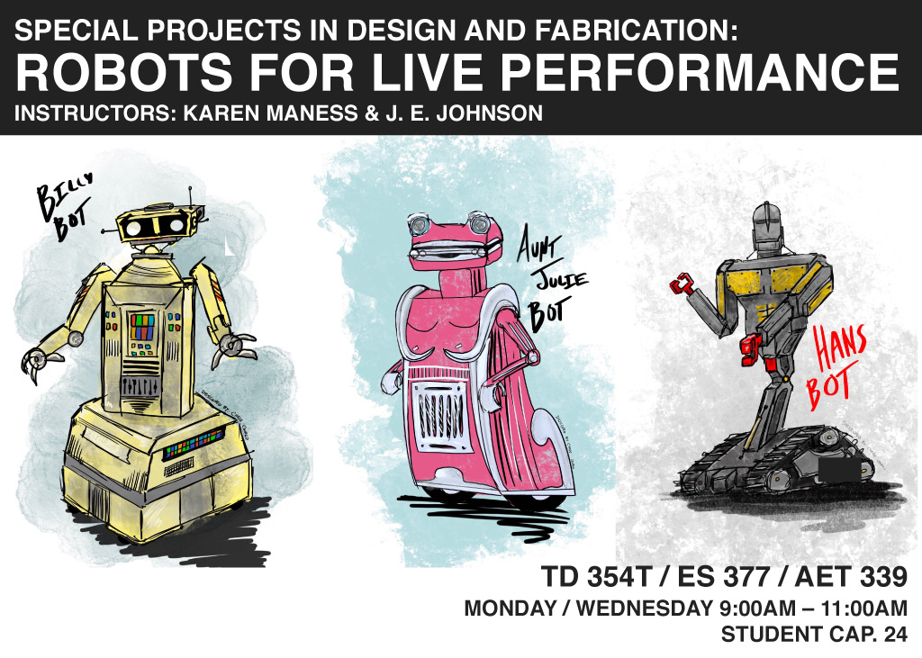 Robots for Live Performance
