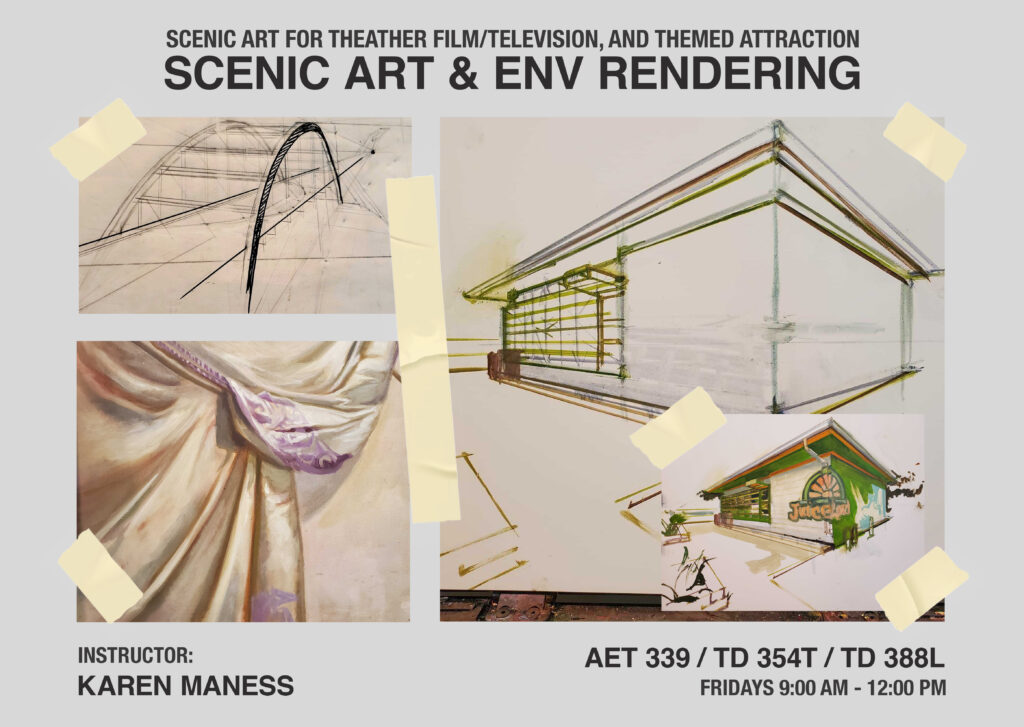 Scenic Art & Environmental Rendering