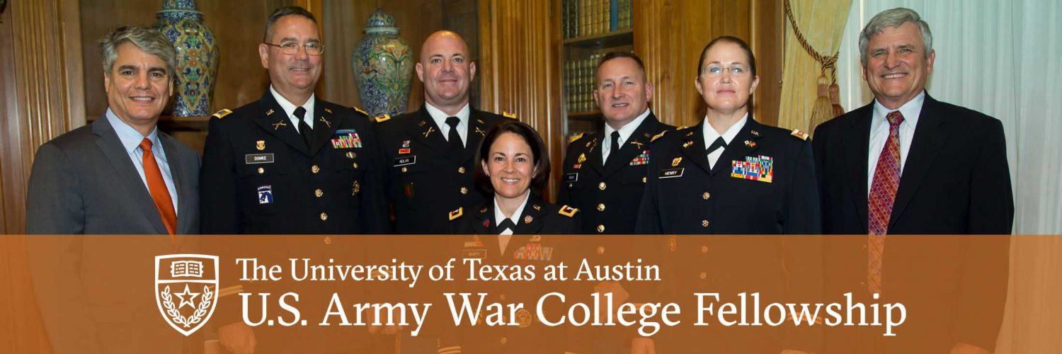 Army War College Fellowship