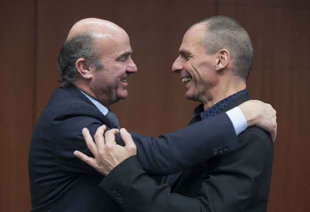 Spanish Economy Minister meets Greek Finance Minister
