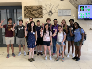 2019 summer scholars all together