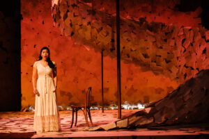 Tatyana sings while the sun rises