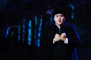 Lenski sings an aria before meeting Onegin to duel