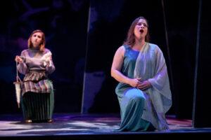 Lucretia sings of her loyalty.