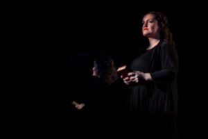 The Female Chorus tells a story.