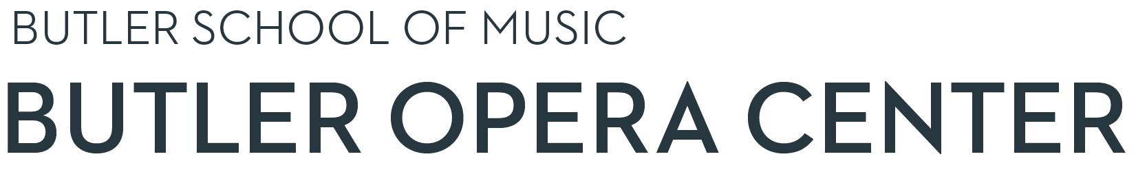 Butler School of Music Butler Opera Center