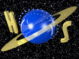 Hearts of Space 3D Logo