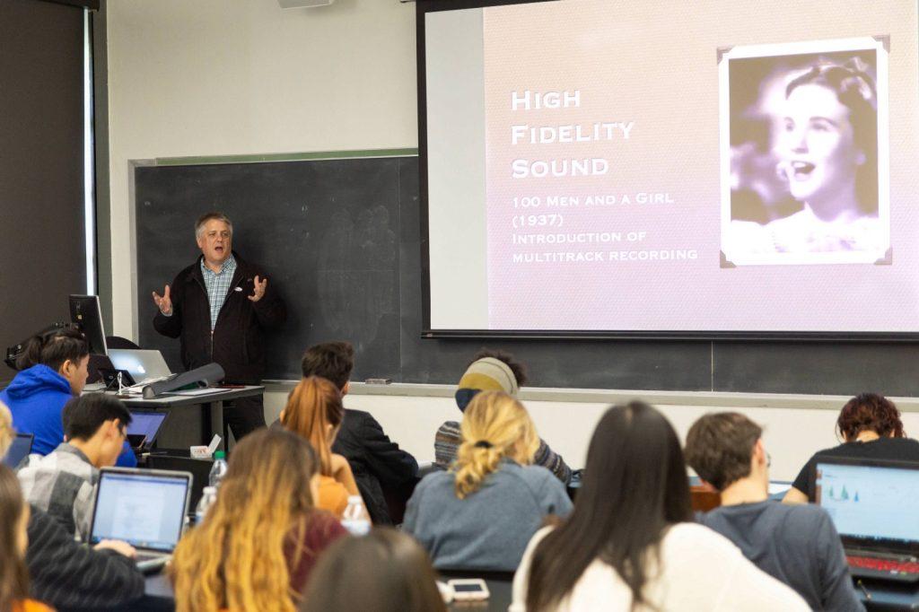 Prof. Buhler teaches and undergraduate class