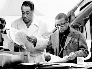 Duke Ellington and Billy Strayhorn - photograph