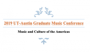 2019 graduate music conference title photo