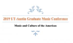 2019 graduate music conference title photo