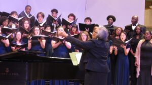Composer Lela Anderson conducts two of her own works.