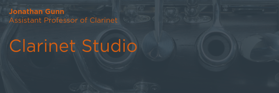 Clarinet Studio | Butler School of Music | University of Texas at Austin
