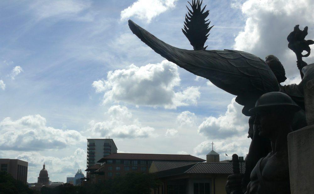 Greek and Roman Myth on UT Campus