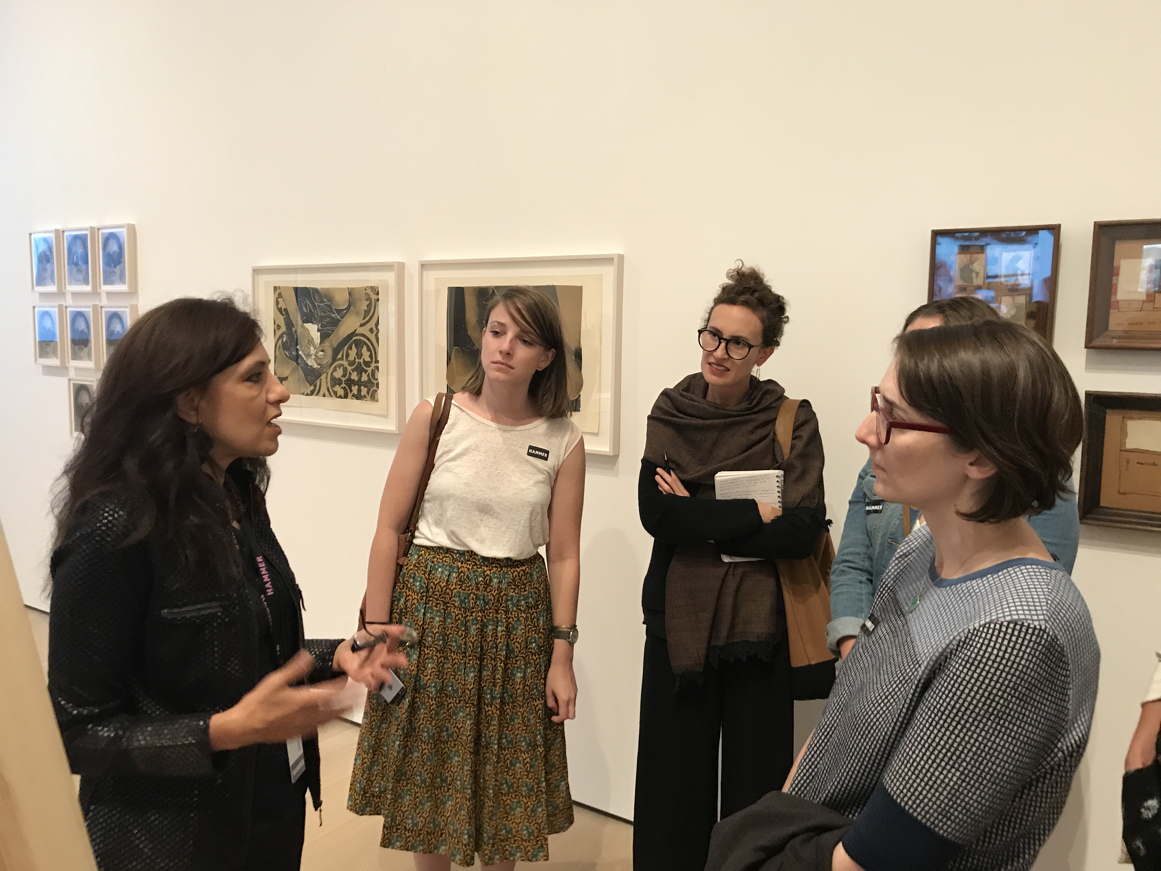 Andrea Giunta hosts CLAVIS at the Hammer Museum for the Radical Women Exhibition (2017)