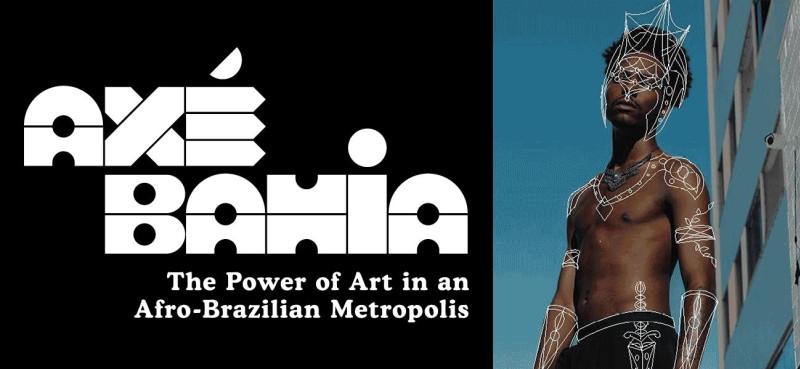 Event poster for Axe Bahia exhibition