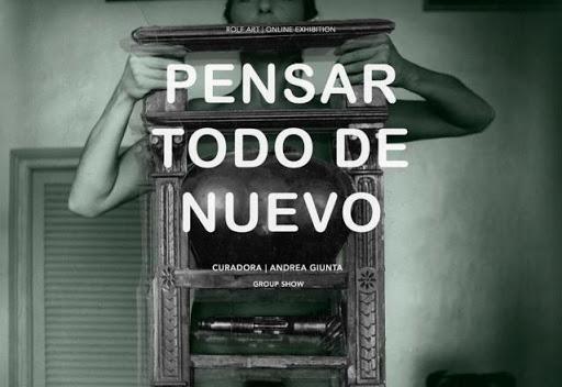 Poster for Pensar Todo de Nuevo exhibition