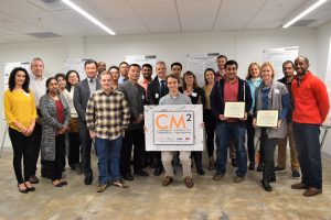 Group photo at the CM2 Fall Exhibition