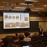 Dr. ming Zhang presenting at UTSOA City Forum