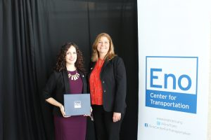 Nicole with her sponsor, Julie Dorazio of WSP USA