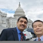 Ming Zhang and Chandra Bhat in DC
