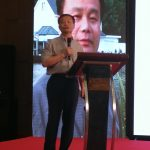 Dr. Zhang speaking at ILUTM