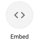 Embed icon