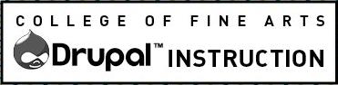 College of Fine Arts Drupal Instructions