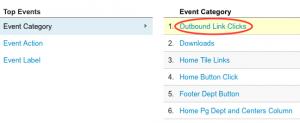 Category Outbound Links