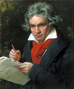 Beethoven portrait by Joseph Karl