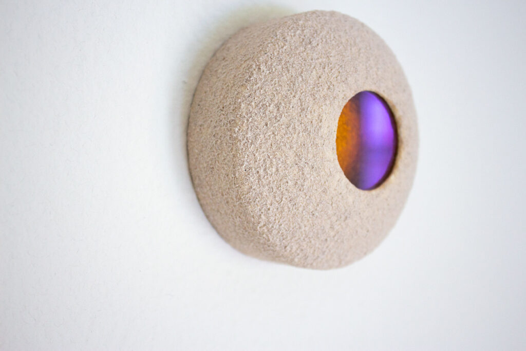 abstract sculpture by Zach Meisner