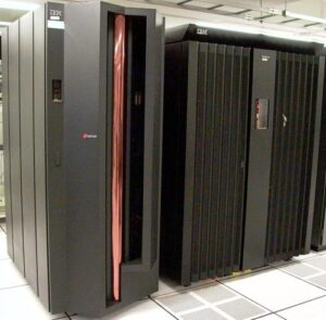 IBM z890 and ESS 800