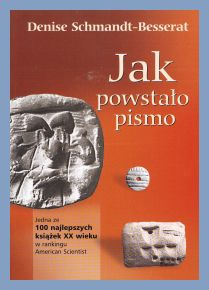 Book cover for the Polish translation of How Writing Came About