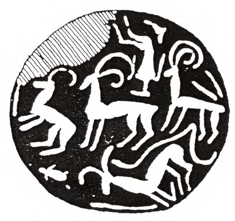 drawing of designs topsy-turvy arrangements of the preliterate seals