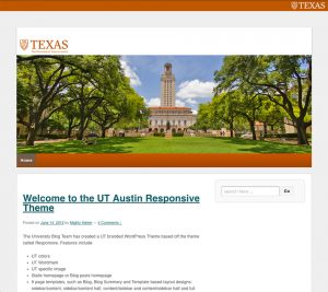 UT Branding Bar Example