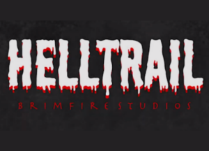 """Title image for """"Helltrail"""" an original video game"""