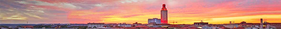 UT Texas skyline