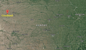 Located three hours from Denver, Goodland Kansas is in the Northwest corner of the state.