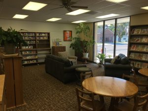 Inside the Stanton County Library