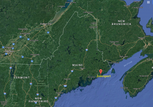 A 'downeast' coastal city, Jonesport, Maine is the only town of it's name in the entire United States.