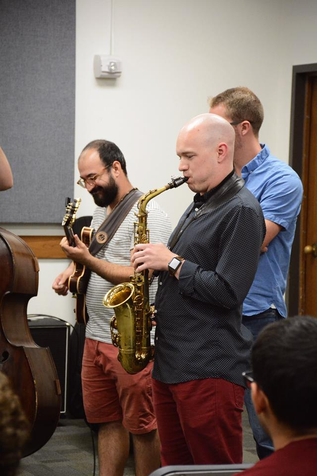 UT students play at John fedchok master class