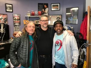 John Fremgen with Victor Wooten and Steve Bailey