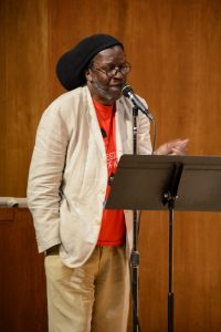 Cornelius Eady reading poetry