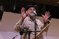 Joe Lovano speaking