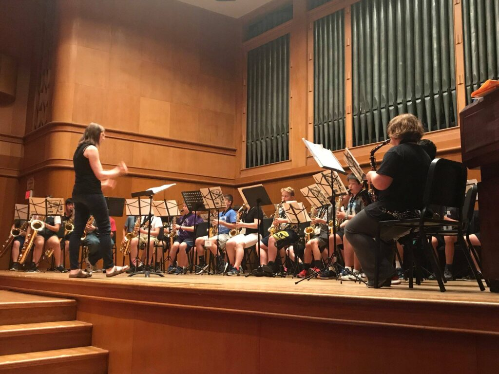Middle School Saxophone Academy